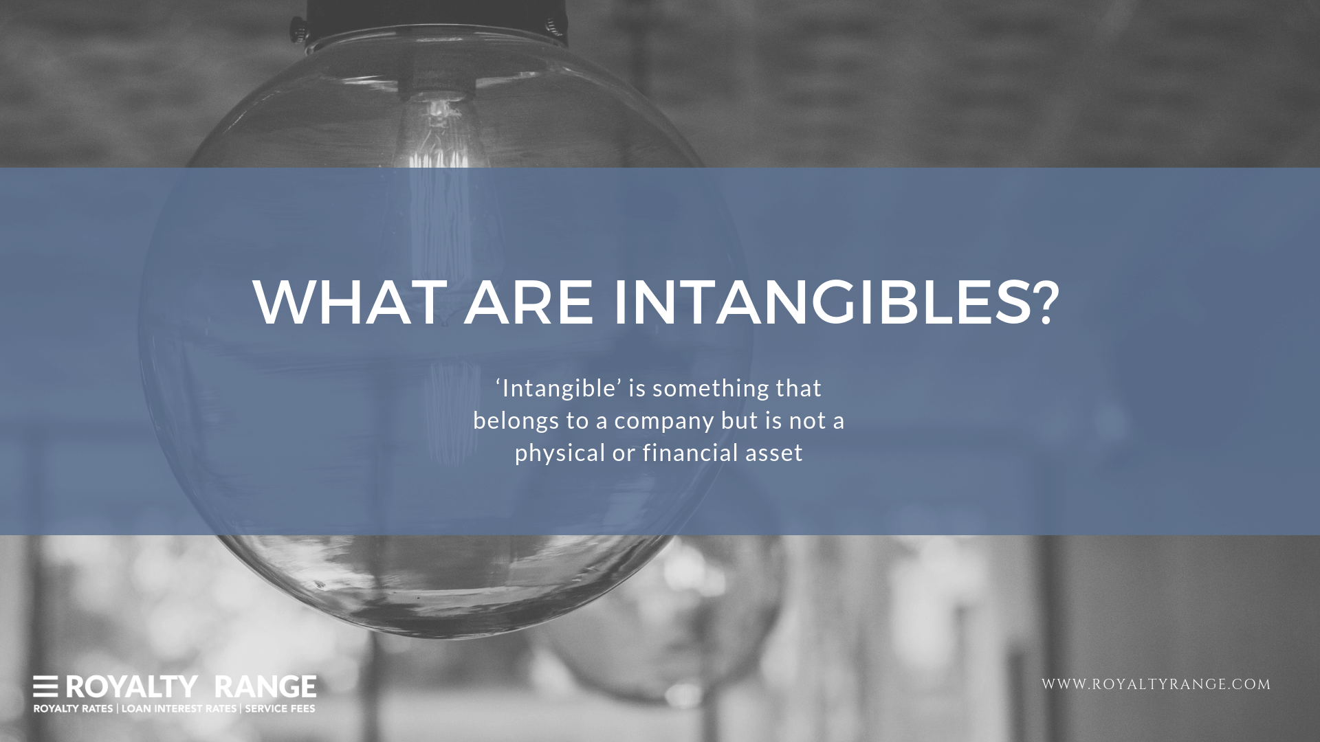 What are intangibles?