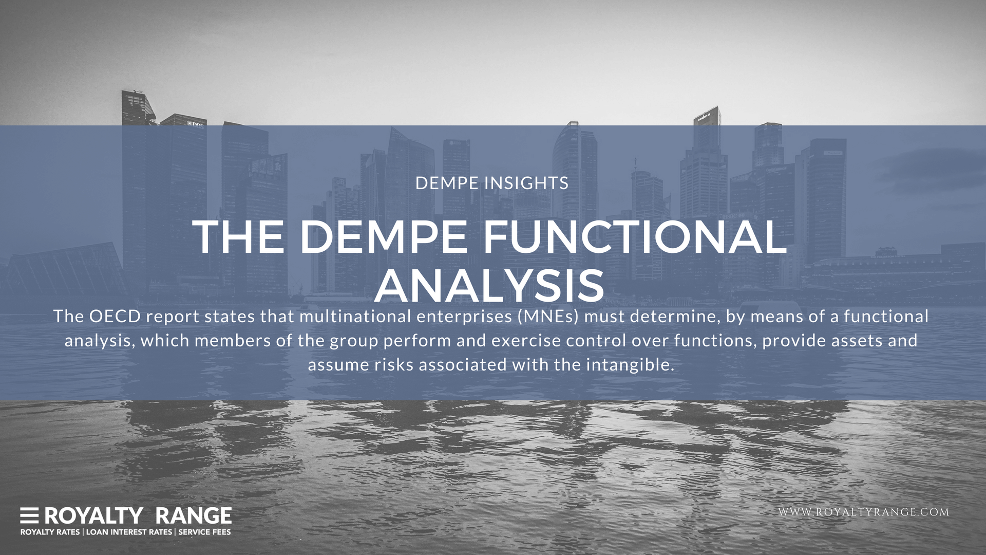 DEMPE functional analysis
