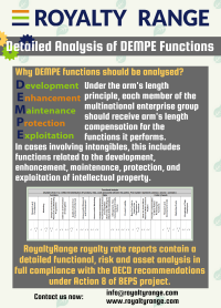 Detailed analysis of DEMPE functions