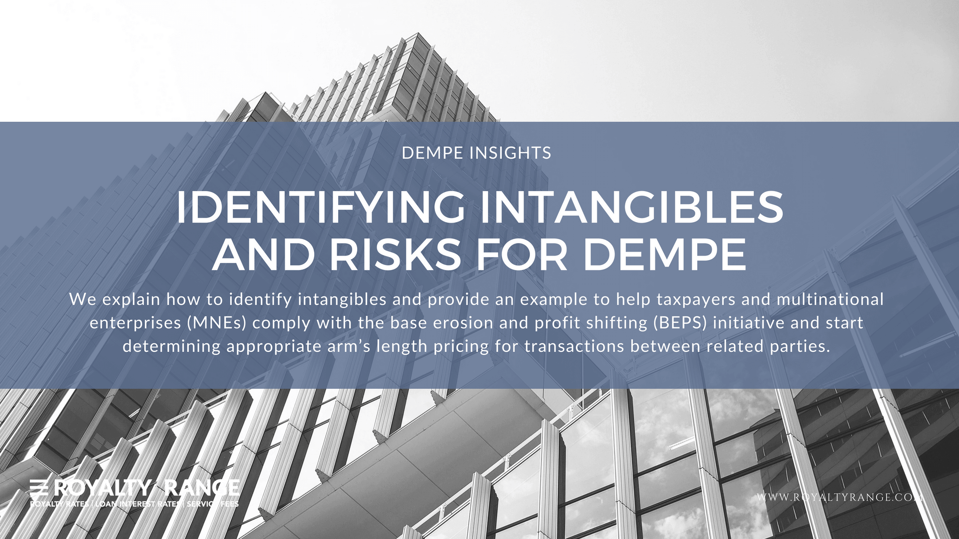 Identifying intangibles and risks for DEMPE