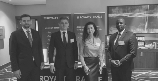 ROYALTYRANGE AT TP MINDS AFRICA 2019